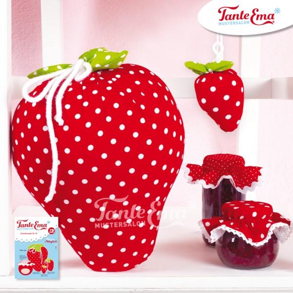 Schnittmuster Erdbeeren mit Nähanleitung, Nr. 15