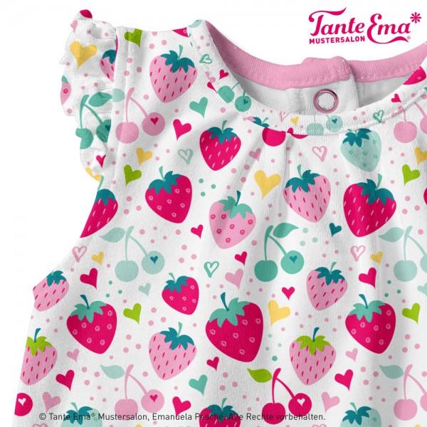 Tante Ema®Erdbeerliebe Erdbeeren Erdbeerstoff Stoff Erdbeer