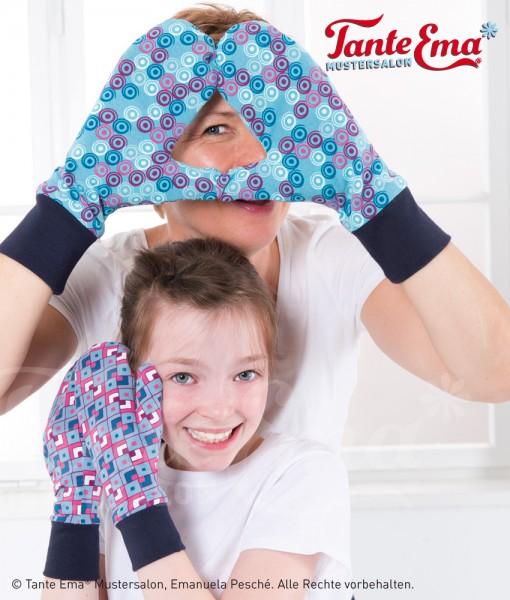 Digitales Schnittmuster Handschuhe und Partnerhandschuh zum Wenden mit Nähanleitung