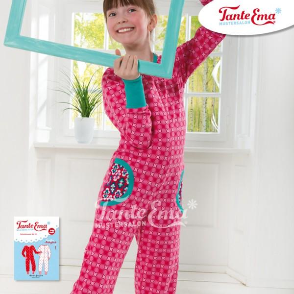Schnittmuster Kinder-Jumpsuit Größen 110 bis 152 mit Nähanleitung, Nr. 10