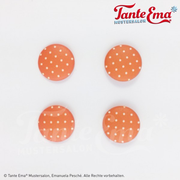 Tante Ema® Knopf-Set orange 1
