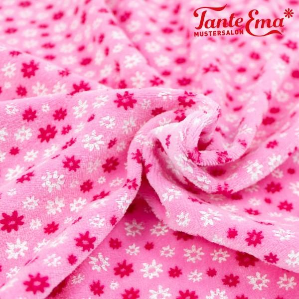 Kuschelnicki Blümchen rosa